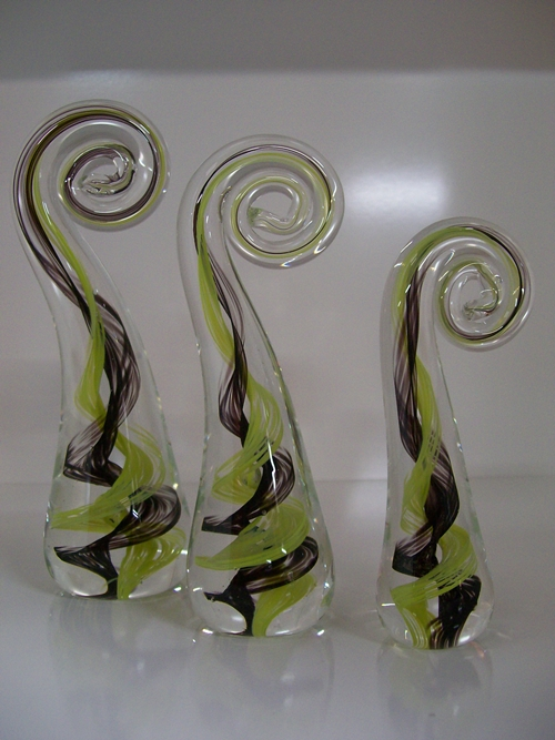 Swirl Koru:set of 3